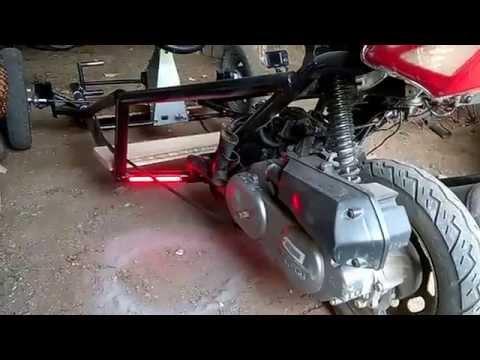 Three Wheeled Go Kart (Homemade)