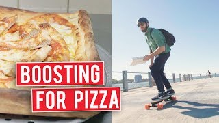 Best Pizza While On A Boosted Ride | I Want That