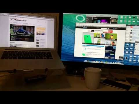 OS X Mavericks Multiple Displays Demo