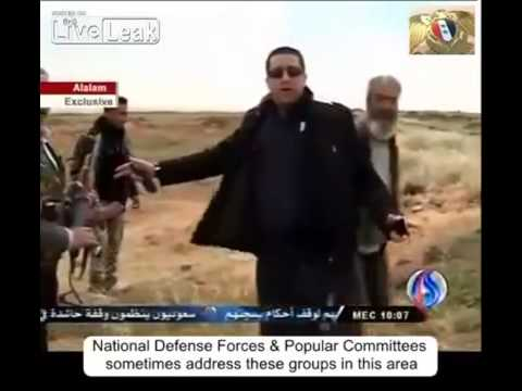 Hussein Murtada at Syrian - Jordanian border to dispel fsa propaganda