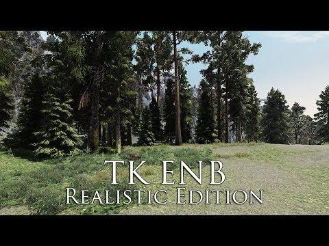 TES V - Skyrim Mods: TK ENB Realistic Edition