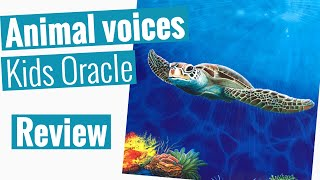 Animal Voices Kids Oracle Cards by Chip Richards Review