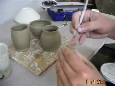 Mugs and Handles Pottery Demonstration Wheel Throwing