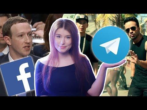 Блокировка Telegram и шумиха вокруг утечки данных Facebook