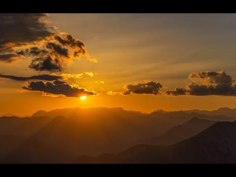 Δύση του ήλιου πάνω από τα βουνά του Πετρίλο. 3-7-2014 Music Videos