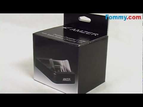Amzer® Desktop Cradle with Extra Battery Charging Slot for the BlackBerry 8900