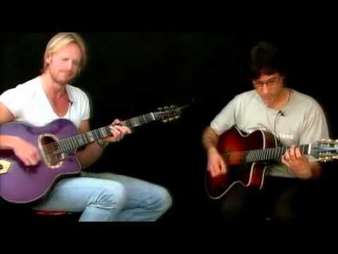 Gypsy Jazz Duets - Gypsy Bossa Performance - Frank Vignola&Andreas Oberg