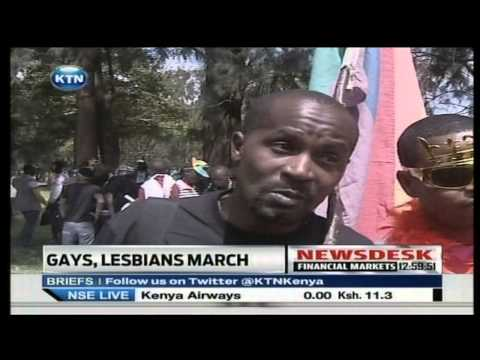 Kenya Gay Community  demand their rights
