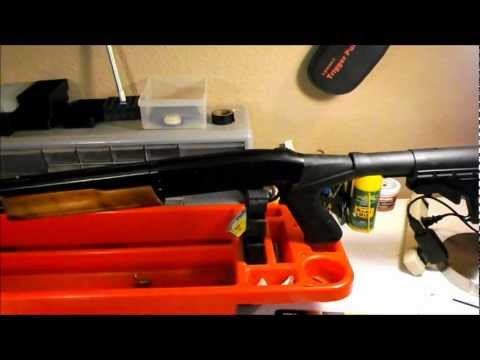 Mossberg 500 / 20 gauge Practical to Tactical Part 2. Installation of the Blackhawk SpecOps Stock