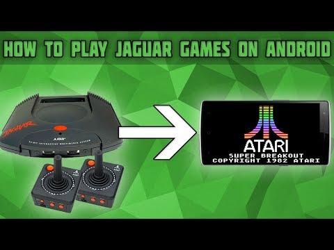 Эмулятор atari jaguar для андроид
