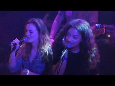 Leighton Meester & Dana Williams - Dreams cover @ Troubadour, L.A 10/28/14