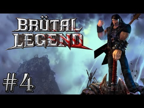 Brutal Legend : La Mine ! | Episode 4 - Let's Play