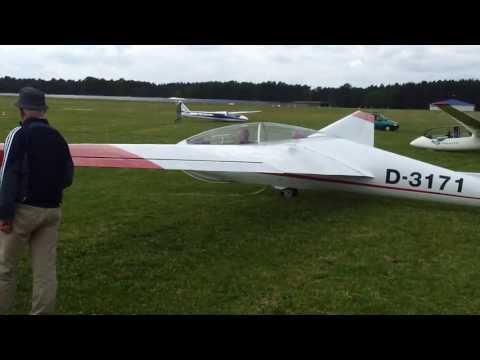 20130630 Segelflug Start per Seilwinde