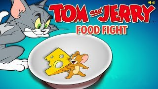 Tom And Jerry - FOOD FIGHT. Fun Tom and Jerry 2018 Games. Baby Games #littlekids