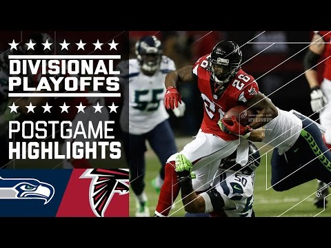 Seahawks Vs Falcons Nfl Divisional Game Highlights