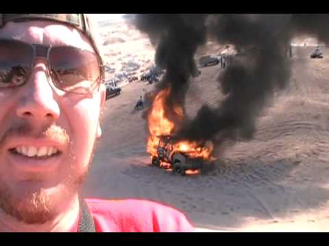 cherokee quemandose en cuervitos el 1 enero