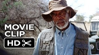 Transcendence Movie CLIP - You've Got Terrible Handwriting (2014) - Morgan Freeman Movie HD