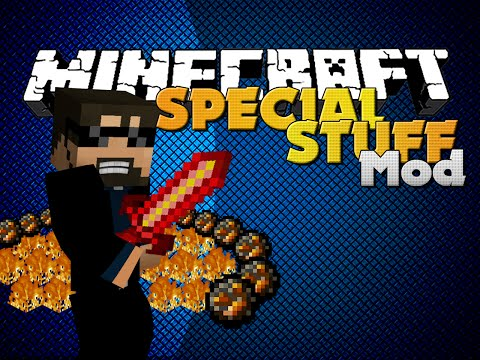 Minecraft - Special Gear Mod - New Elemental Items And Boss video