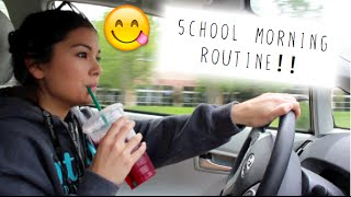 School Morning Routine!!!