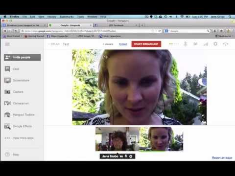 how to record a google hangout call