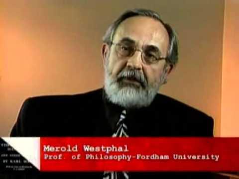 Karl Marx and Georg Hegel
