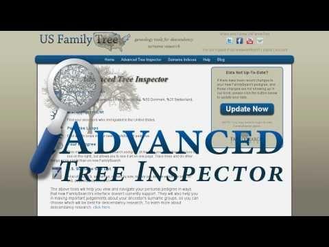 (FREE) Advanced Tree Inspector Genealogy Tools Walkthrough