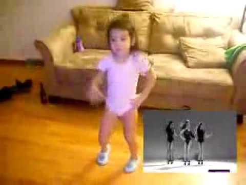 baby dancing wallpaper. SINGLE LADIES BABY DANCE - Cute Little Girl Dance