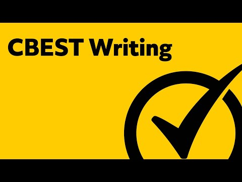How to pass cbest writing