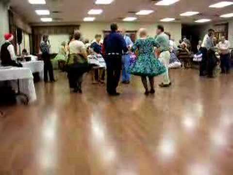 Square dancing at Salado, Texas