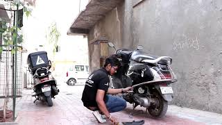 Two Wheeler's Door Step Services || India's Online Garage || Automobile Innovation