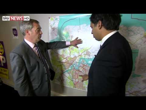 Nigel Farage Explains How UKIP Won Rochester and Strood