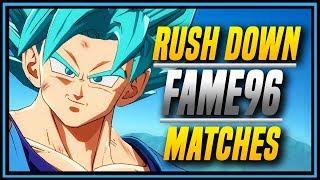 DBFZ ➤ Fame96 Compilation Super Saiyan Blue Goku , Vegeta and Cell [ DragonBall FighterZ ]