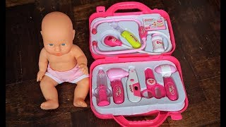 Born Baby Dolls Doctor Toy Girl Set - Play doctor collection