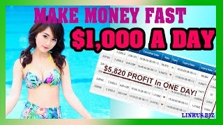 How To Make Money Online Fast - Become A Millionaire Earn $1,000 Per Day Case 10