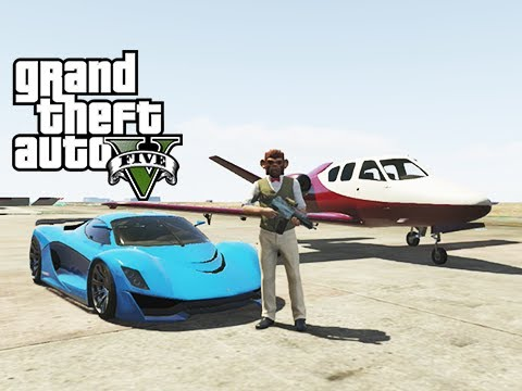 GTA 5 Online Business DLC Commentary: Fully Customized Grotti Turismo R. Jester and Vestra Jet