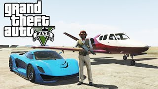 GTA 5 Online Business DLC Commentary: Fully Customized Grotti Turismo R, Jester and Vestra Jet