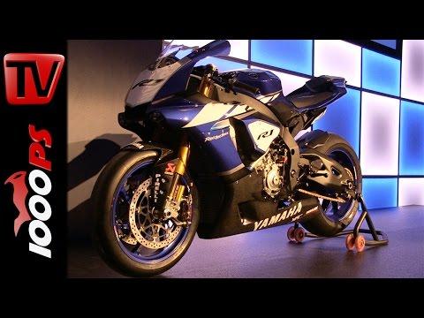 Yamaha YZF-R1 und YZ 2015 / Racingteam Bikes Pr�sentation / IDM / SBK / Sound
