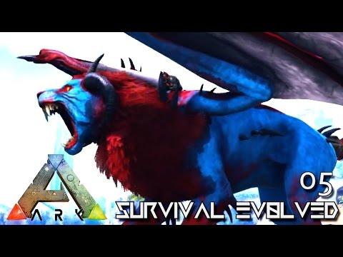 ARK: SURVIVAL EVOLVED - NEW PRIMEVAL MANTICORE TAME !!! E05 (MODDED ARK PUGNACIA DINOS)