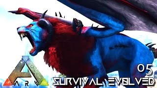 ARK: SURVIVAL EVOLVED - NEW PRIMEVAL MANTICORE TAME !!! E05 (MODDED ARK PUGNACIA DINOS)