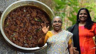 വിറകടുപ്പിൽ നാടൻ  ബീഫ് ഉലർത്തിയത്  Kerala Beef Ularthiyathu Christmas Special Kerala Beef Fry