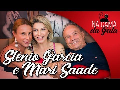 #NACAMADAGATA com STENIO GARCIA & MARI SAADE