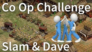 Funny Co-Op Challenge! Episode #1 [Slam + Dave]