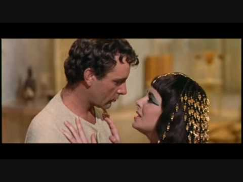 Elizabeth Taylor, Rex Harrison and Richard Burton in Cleopatra - The whole movie by the main song