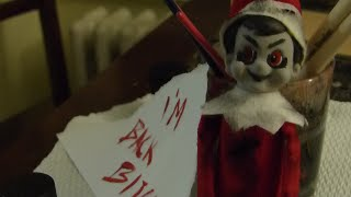 BAD Elf on the Shelf!