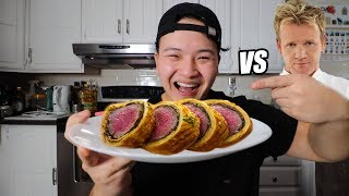 I Tried Making Gordon Ramsay's Most Famous Dish: Beef Wellington