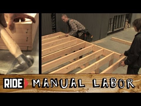 How-To Build a Skatepark: Deck (Part 1) - Manual Labor