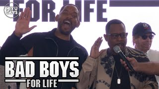 Bad Boys for Life (Bad Boys 3) SLAM Panel + Keys to the City & Honorary Police Officer Ceremony