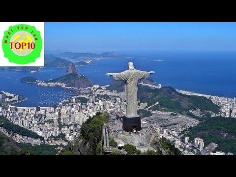 Top 10 Tourist Attractions in Rio de Janeiro