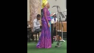 """The One He Kept for Me """"Rendition by The Njoku Sisters"""