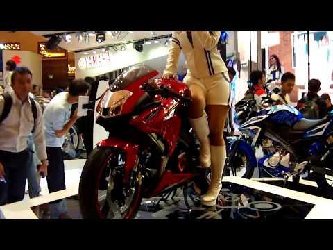 Yamaha All New Vixion Jakarta Motor Show 2012